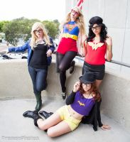 Hipster DC Girls by NovemberCosplay
