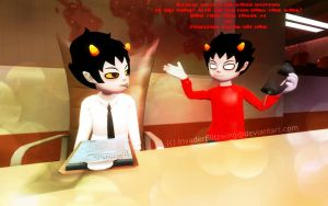GMOD - Homestuck - Karkat your not working by InvaderBlitzwing