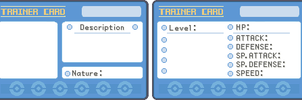 Pokemon ID Template by SeraiMizu