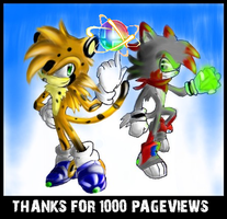 1000 PAGEVIEWS SPECIAL by dabbido