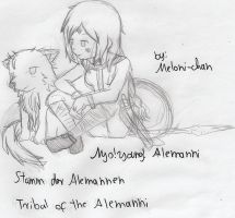 Nyo ! young ! Alemanni by Meloni-chan
