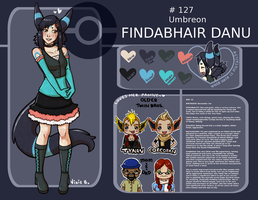 Reference Sheet - Findabhair by Vixie-Bee