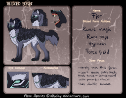 Fjor blitzed form by EscapingValhalla