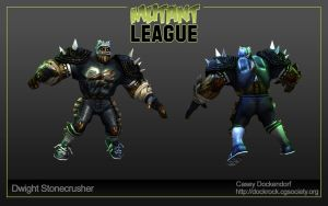 Mutant League Challenge 2 by CaseyD2K