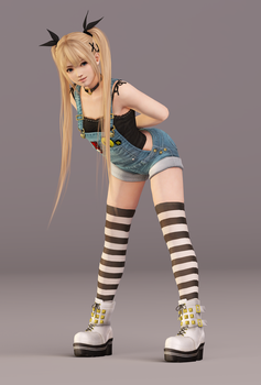 Marie Rose 3DS Render 5 by x2gon