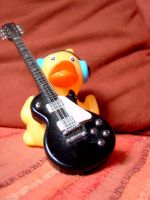guitar-duck by a-muse-d