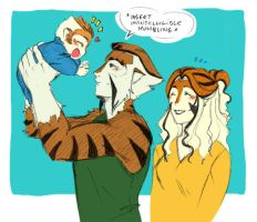 Who is the tiger? by Cofie