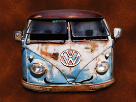 Mater VW Bus by fastworks