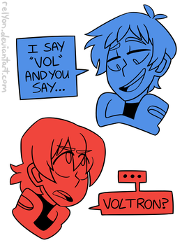I SAY VOL AND YOU SAY by relyon