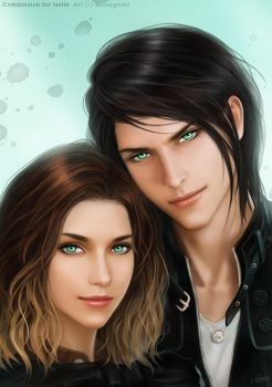 Seth and Haley by shuangwen