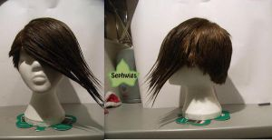 Wig Commission - Trowa by kyos-girl