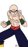 Tien Shinhan doodle by rongs1234