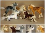 Kirin Foals (for sale) by scenceable
