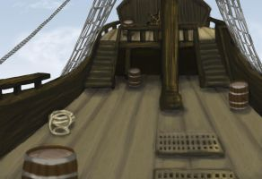 Pirate Ship by MKUSecondGeneration2