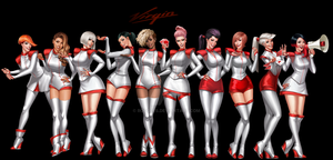 Virgin Ladies by Roggles