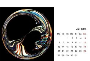 abstract 2009 - calendar 07 by 2-03