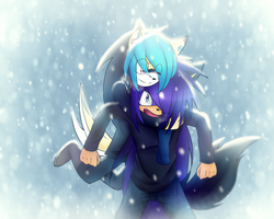 .:Fucking in the snow:. by ZeroElErizo