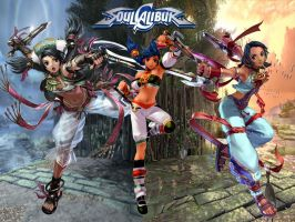 Soul Calibur: Talim Wallpaper by Nightwind-Dragon