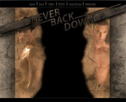 Never Back Down by wolfgo4