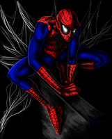 Spidey by JessCurious