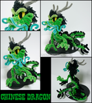 Pipecleaner Chinese dragon by teblad