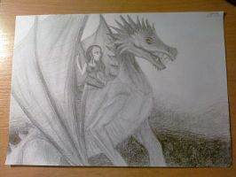 dragon rider ._. by Grayes
