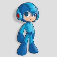 Little Mega Man by Rootay