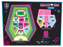 Monster high School Map by Chains-Of-Faith