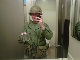 WWII US Army Soldier by Scarlet-Impaler