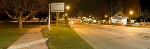 Frankenmuth at Night Pano by jrbamberg