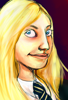 Luna Lovegood by Dawna-May