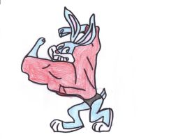 Buster Bunny Toned Up by Buster1991