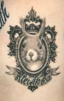 Squirrel Tattoo by nataliaborgia