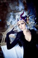 Sorceress Edea by bellatrixaiden