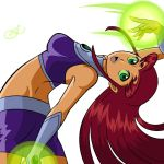 Starfire Doodle by Ivanoffster