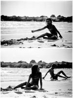 beach. duptych by d--i