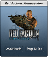 Red Faction Armageddon - Icon2 by Crussong