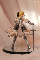 Saber Lily figure by SelenaAdorian