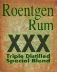 Roentgen Rum label by emptysamurai
