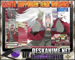 Jiraiya Theme Windows 7 by Danrockster