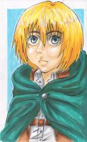 Armin Arlert - Attack on Titan by SpazztasticFanGirl