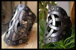 Trinity leather Bracer by morgenland