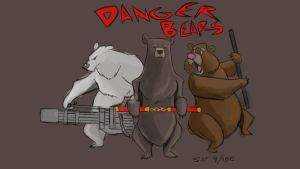 Danger bears by Huggbees