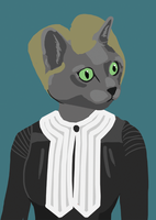 Cats Are Smart: 4/4 Marie Korat by Jess-Bot