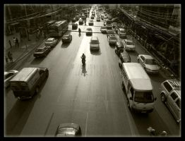 Bangkok Traffic 1 by vgfoto