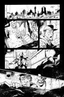 Batman AK issue 19 page 1 by aethibert
