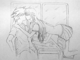Kiss at School by shahchirag1709