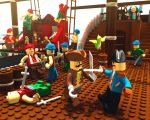 3D : Lego Pirates by CheungKinMen