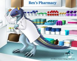 Comm: Dino Pharmacist by Silberry