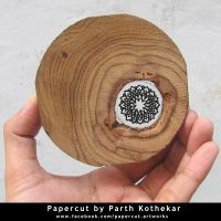 miniature papercut #15 by ParthKothekar